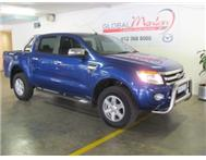 2012 Ford RANGER 3.2TDCi XLT 4X4 6SPEED MANUAL