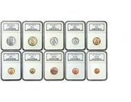 The Mandela (South African coins) Prestige set