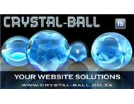 Website Design & Development (www.crystal-ball.co.za)