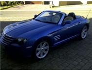 2008 Chrysler Crossfire 3.2 V6 LTD A/T Convertible.
