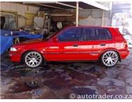 RED 1996 TOYOTA CONQUEST RSI 1600 1...