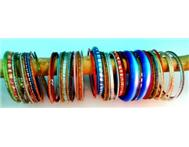 arm bangles and books