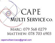 WINTER MAINTENANCE WITH CAPE MULTI SERVICE Co