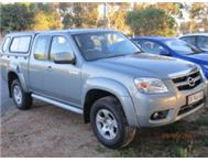 LIKE NEW 1 OWNER FSH MAZDA BT 50 DIESEL FREESTYLE CAB FRIDGE