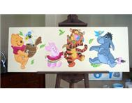 Canvas Art For Baby Nursery Or Kids Bedroom Painting in Art Western Cape Stellenbosch - South Africa