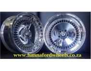 HANNAFORD MAG & TYRE ... 17 INCH CHROME SCHMIDT IN STOCK ....