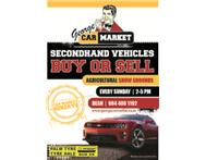 Park & Sell George Show Grounds Every Sunday 2 to 5 pm