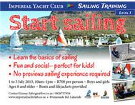 START SAILING @ IMPERIAL YACHT CLUB ZANDVLEI