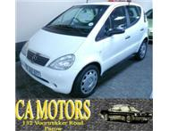 2001 Mercedes Benz A160 - Very fuel efficient !