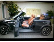Mini Cooper S Convertible Limited Edition Side Walk