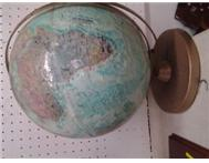 VINTAGE WORLD GLOBE choices @ the BARN ALWAYS!