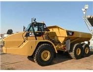 2008 CATERPILLAR 740 6x6 Articulated Dump Trucks (12 Available)