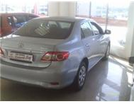 2010 TOYOTA CORROLA 1.3 PROFISIONAL RICHARDS BAY