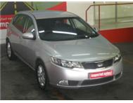 2012 Kia Cerato 1.6i 6 Speed Auto Hatch