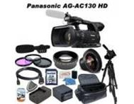 Panasonic AG-AC130 AVCCAM HD Handheld Camcorder with Lighting Ki Kimberley