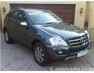 2010 MERCEDES-BENZ M-CLASS ML350 Cdi Blue Efficiently