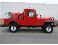2013 JEEP WILLYS 4 x 4 firetruck
