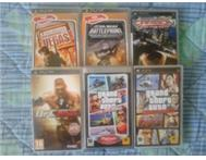 6 PSP GAMES BUNDLE