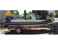 Ark Inflatable Rubber-duck Semi Rigid 5.0m R40 000.00 NEG.