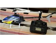 KDS 450 QS Helicopter and radio - Brand new!