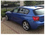 2013 BMW 1 SERIES BMW 118i auto sport pack with sunroof and 18 wheels demo prime -5 scheme