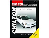 Chilton C28430 General Motors Impala & Monte Carlo Repair Manual 2006-2008