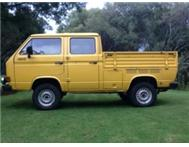 VW Syncro Double Cab Bakkie / Pick up.