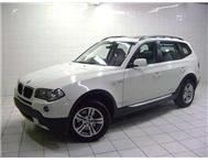 2007 BMW X3 BMW X3 2.0D M/PLAN TO 120 000 KM S