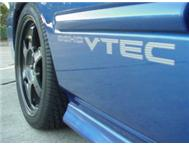 BALLADE & CIVIC VTEC GEL DECALS/BADGES