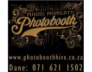 Photo Booth Hire from R 1400 in Pretoria & Johannesburg