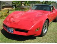 Corvette Stingray T-Top