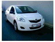 2012 TOYOTA YARIS ZEN 3 Sedan 1.3 AC S