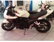 Suzuki GSX 650 F White No Learners or License Required R2550pm