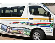Daily reliable shuttle transport to Town from only R750 per month!