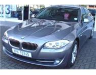 2012 BMW 5 Series 520i A/t Exclusive (f10)