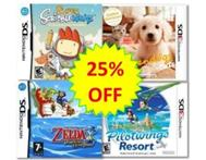 Up to 25% off Nintendo DS & 3DS games