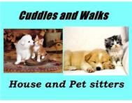 Cuddles and walks house and pet sitters