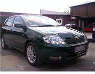 TOYOTA RUNX RSI 1.8 FROM TOYOTA CALL NOW
