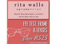 Rita Walls Optometrist â Package deals from R525 (George)
