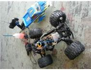 Two stroke Radio control 4x4 Monster bakkie FOR SALE