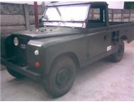 LAND ROVER SERIES 2 GREEN MONSTER