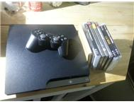 PS3 in excellent condition including 9 games