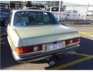 1985 Mercedes Benz 230E Automatic Cape Town