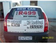 Drive a new car from as little as R499