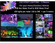 LED LIGHT STRIPS 5 METER ROLLS in D.I.Y Gauteng Glenvista - South Africa