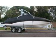 Custom made boat covers.