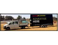 MOVING BILLBOARD - MOBILE TRAILER ADVERTISING