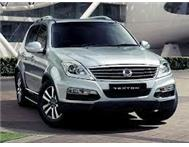 2013 Ssangyong Rexton - brand new from R379 995