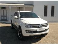 DEMO 2013 VW AMAROK D/CAB 2.0 BITDI HIGHLINE 4 MOTION 132KW