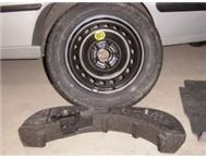 SAAB 93 SPARE WHEEL WITH COMPLETE TOOL KIT